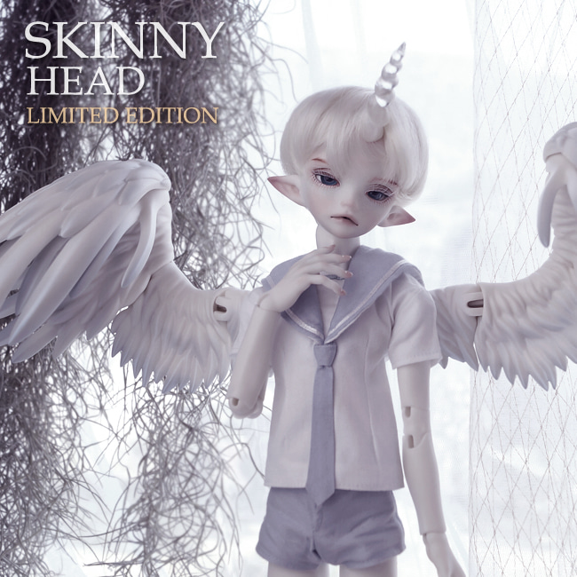 BJD,돌팜(DOLLPAMM),(100Limit) SKINNY 'Unicorn ICARUS' Head